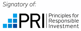 Signatory of:PRI Principles for Responsible Investment