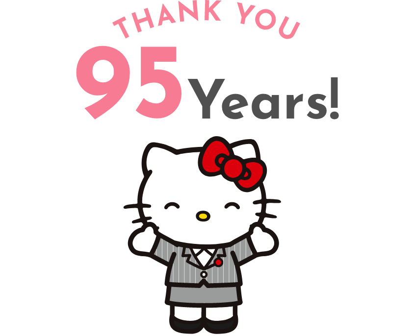 Thank you! 95Years!